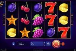 3 Fruits Win: 10 lines Slot