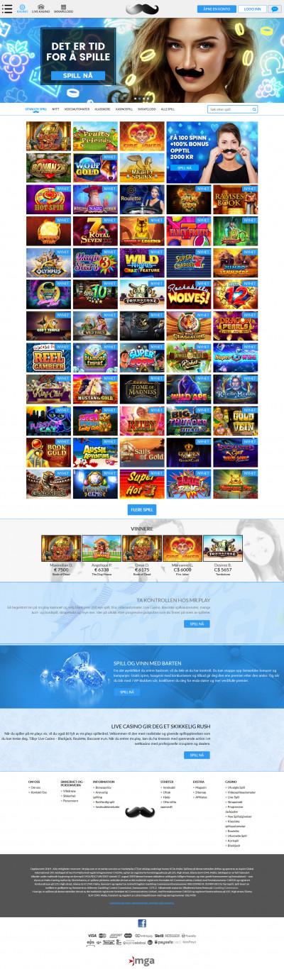 Mr.Play Casino Screenshot