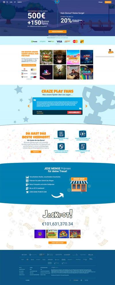 Craze Play Screenshot
