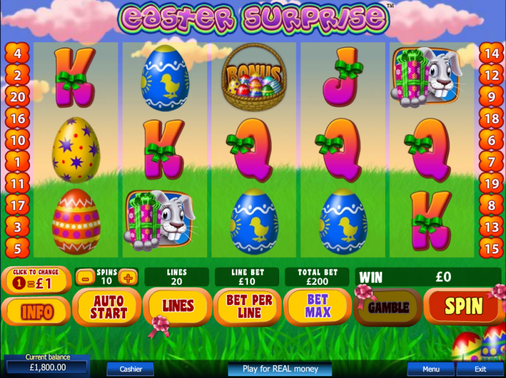 Easter Surprise Slot Images - CasinoTop