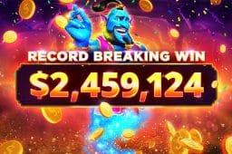 Ein rekordverdächtiger 2,4 Mio. Dollar Gewinn bei BitStarz