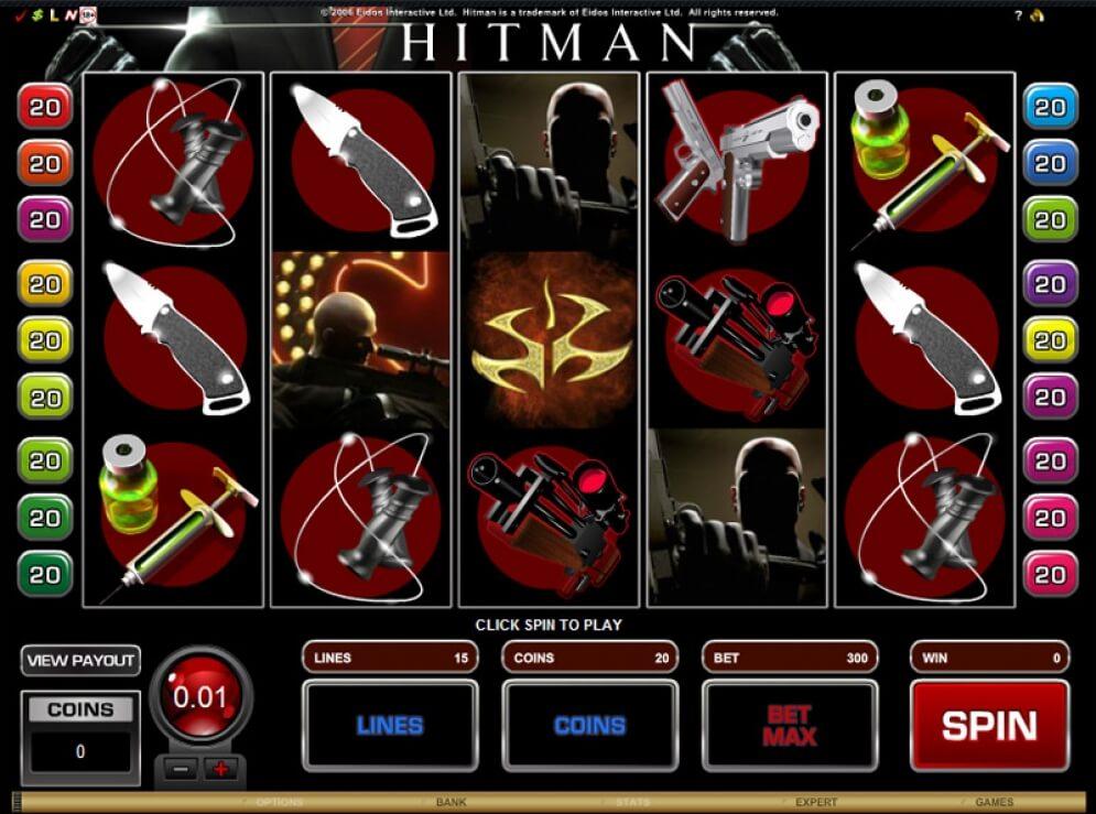 Hitman Slot Images - CasinoTop