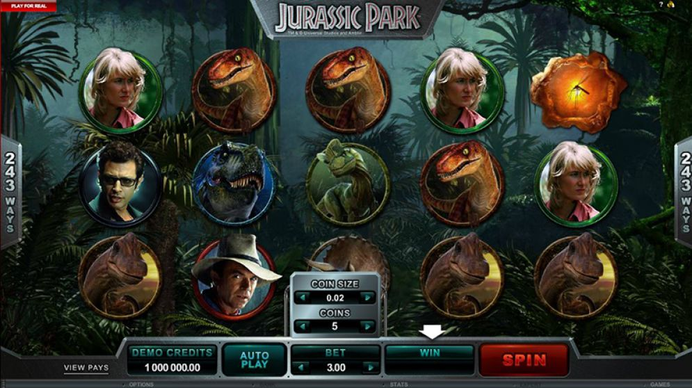 Jurassic Park Slot Images - CasinoTop