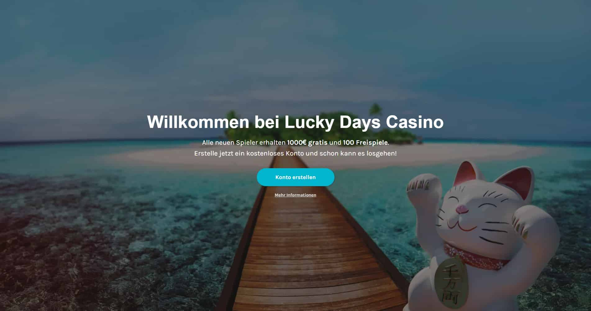 Lucky Days Casino Content Images - Germany CasinoTop