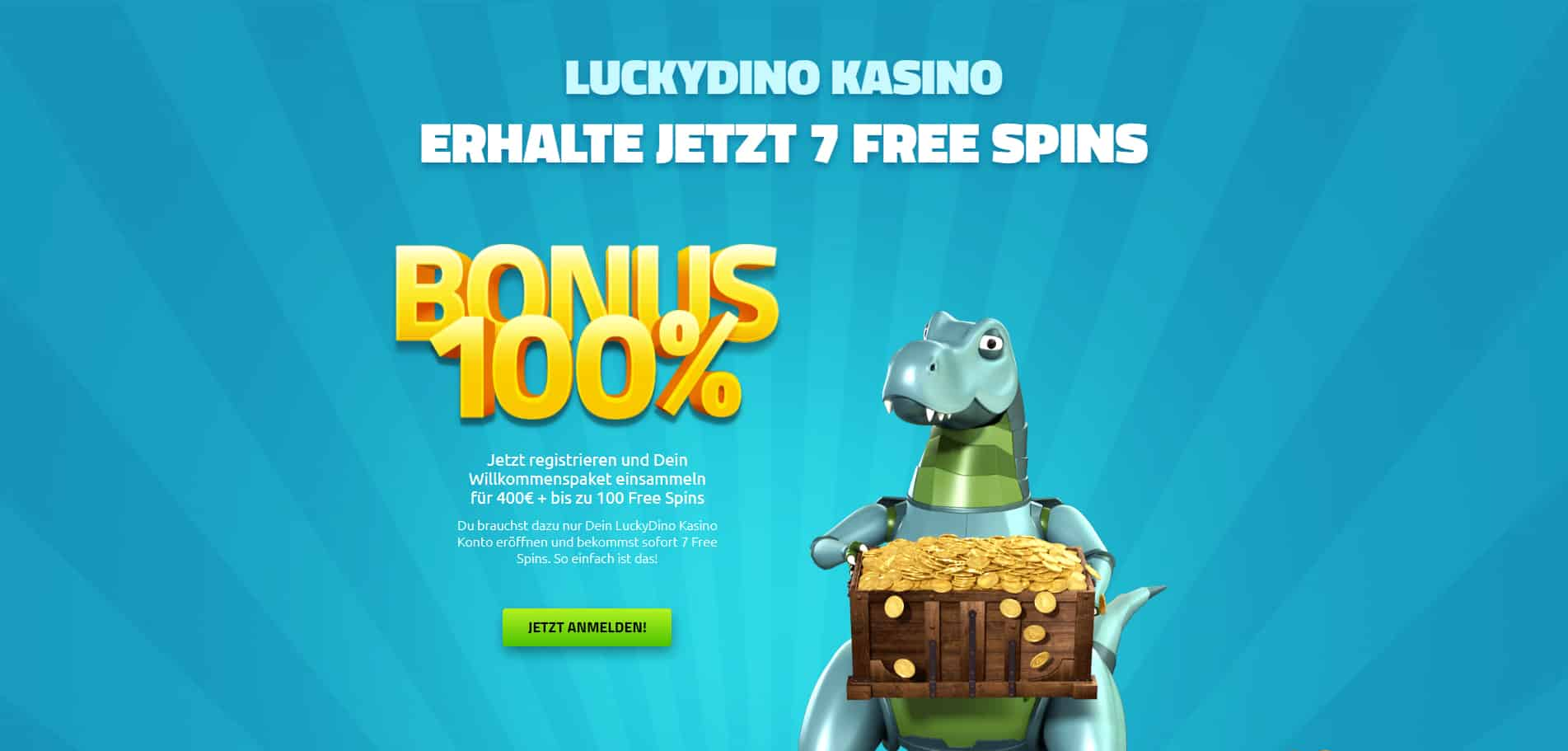 LuckyDino Casino Content Images - Germany CasinoTop