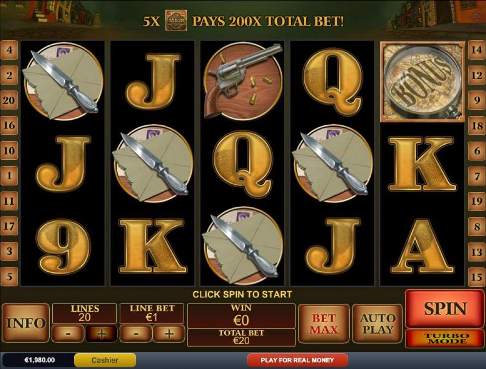 Sherlock Mystery Slot Images - CasinoTop