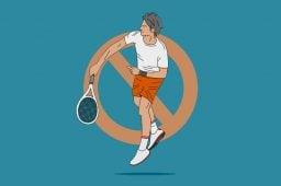 Wegen Wettbetrug erhielt Tennisprofi Sperrung