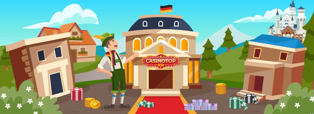 Beste Online Casinos | CasinoTop Deutschland