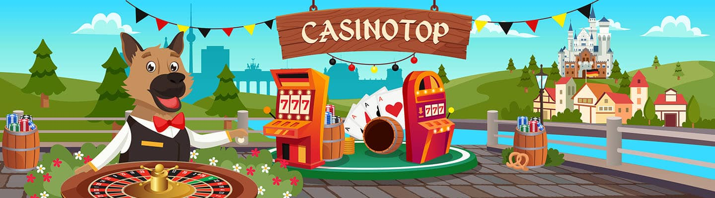 CasinoTop Deutsche Footer