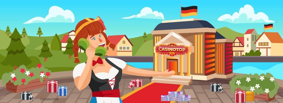 Kontaktiere Uns | CasinoTop Deutschland