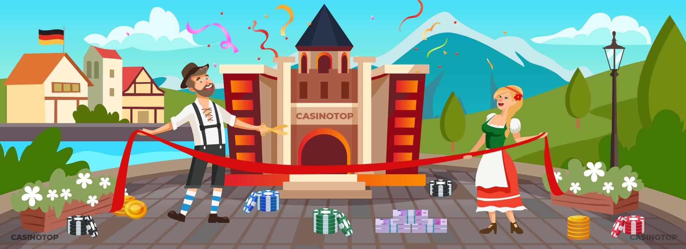 Neue Online Casinos | CasinoTop Deutschland