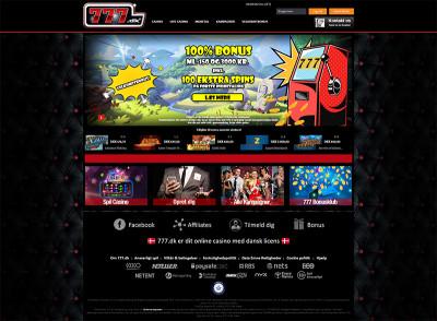 777.dk Casino Screenshot