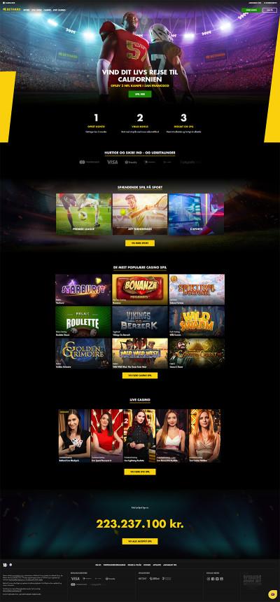 Bethard Casino Screenshot