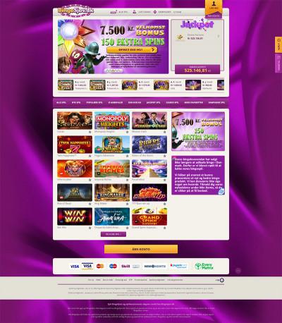 BingoSjov.dk Casino Screenshot