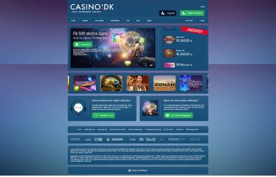 Casino.dk Screenshot