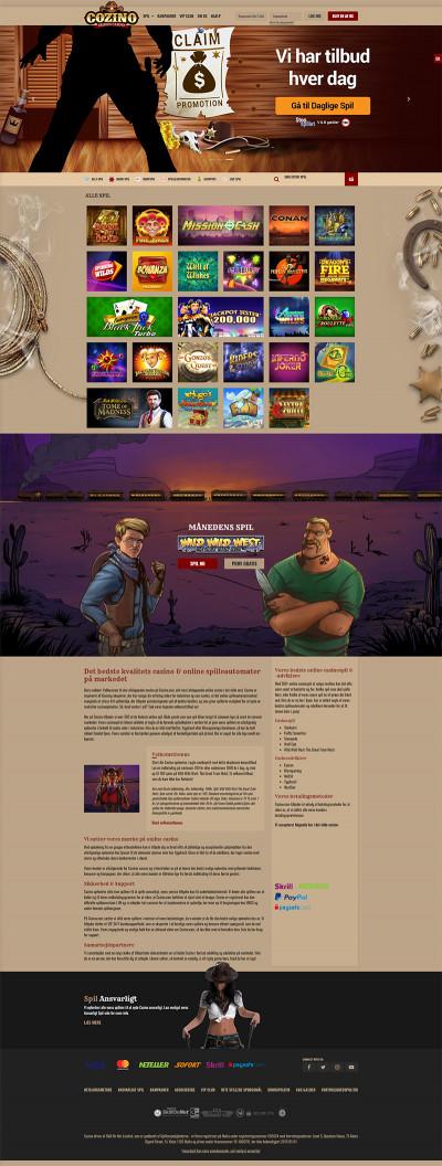 Cozino.com Casino Screenshot