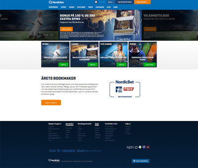 NordicBet Casino Screenshot