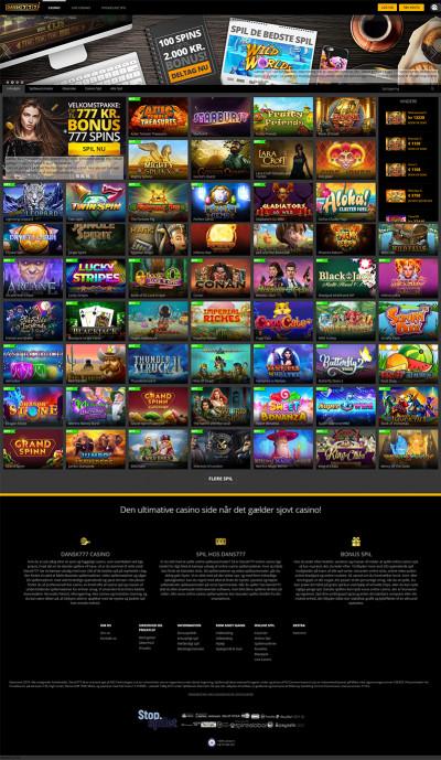 Dansk 777 Casino Screenshot
