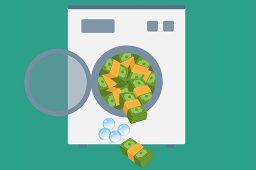 Hvidvaskning af penge