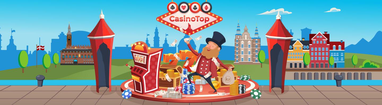 CasinoTop Danmark Footer Banner