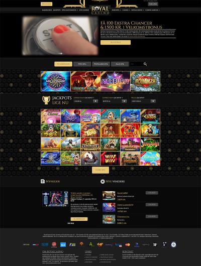 Royal Casino Screenshot