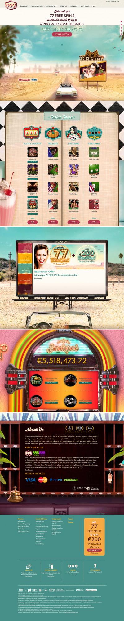 Casino 777 Screenshot
