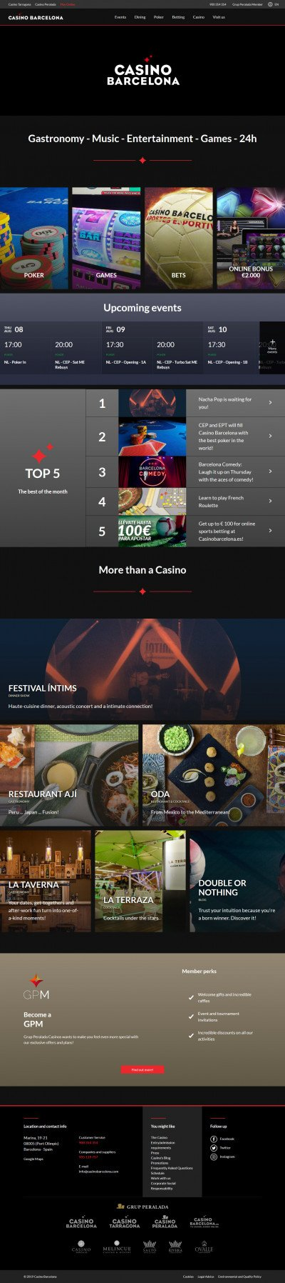 Casino Barcelona Screenshot