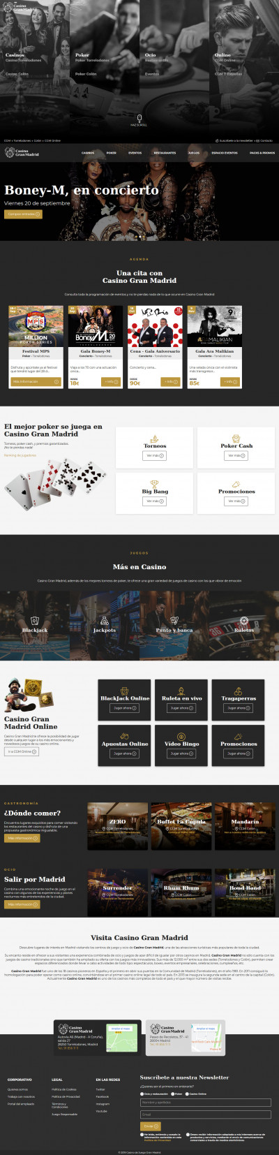Casino Gran Madrid Screenshot