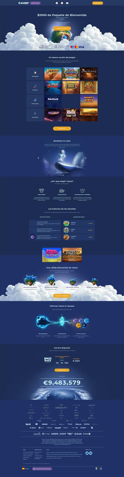 Casoo Casino Screenshot