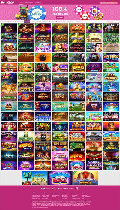 SlottoJAM Casino Screenshot