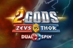 2 Gods Zeus vs. Thor on uusi Yggdrasil Gamingin kolikkopeli