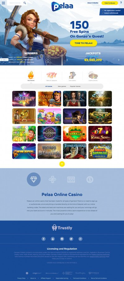 Pelaa Casino Screenshot