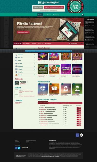 Suomikasino Screenshot