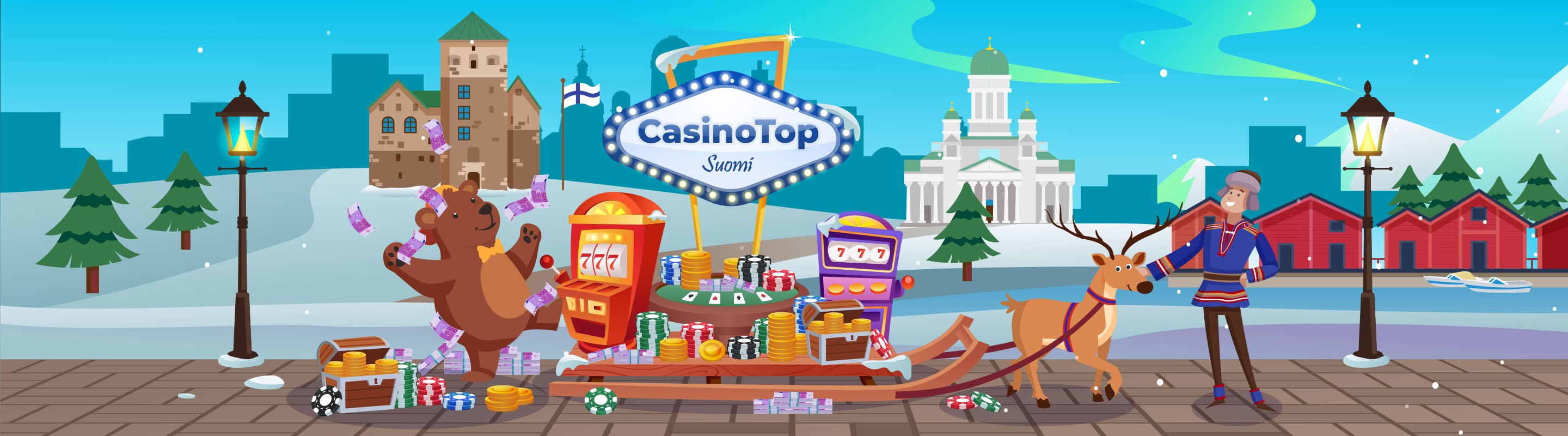 CasinoTop Suomi Footer