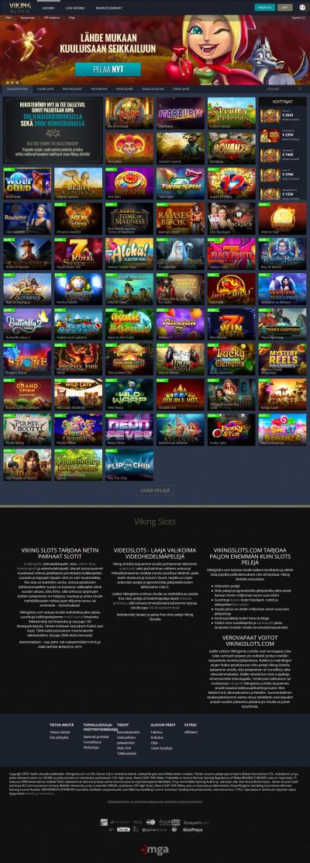 Viking Slots Casino kuvakaappaus