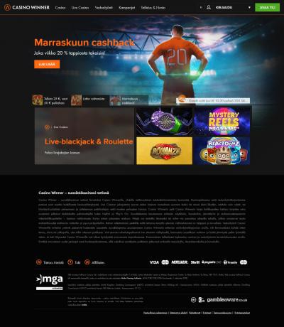 Casino Winner Screenshot