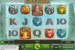 Secret of the Stones Slot Image