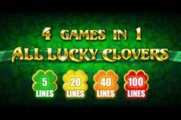 BGamingin uusi All Lucky Clovers kolikkopeli tuo yhteen uutta ja vanhaa