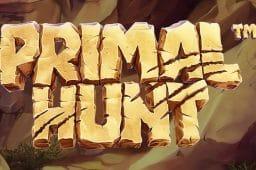 Betsoft Gamingin Primal Hunt kolikkopeli vie sinut kivikaudelle