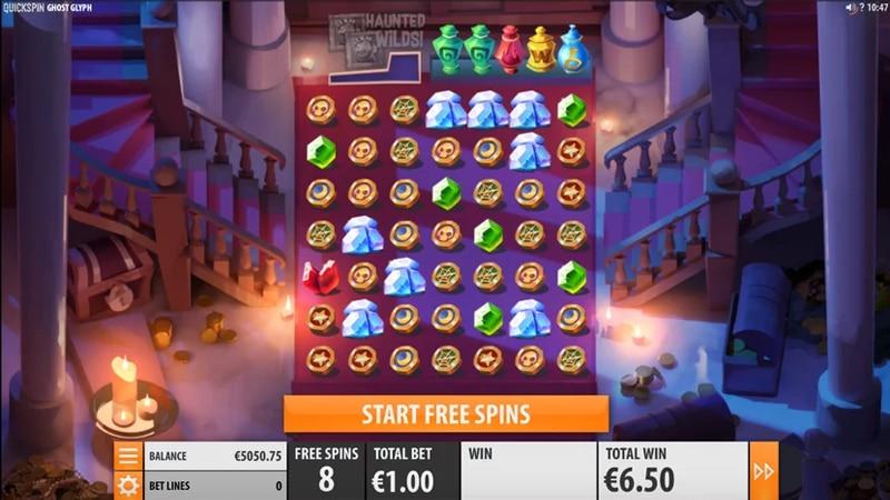 Ghost Glyph on Quickspinin uusi jännittävä kolikkopeli - tulossa syyskuussa Banner - CasinoTop