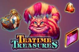 High 5 Gamesin uusi Teatime Treasures on valloittava kolikkopeli