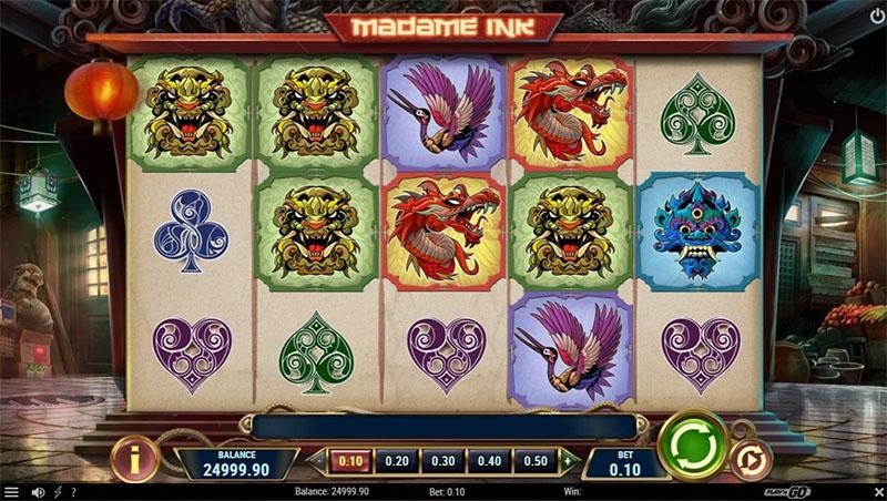 Madame Ink kolikkopeli vie sinut tatuointistudioon Screenshot - CasinoTopp