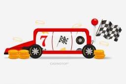 Parhaat moottoriurheiluun liittyvät kolikkopelit
