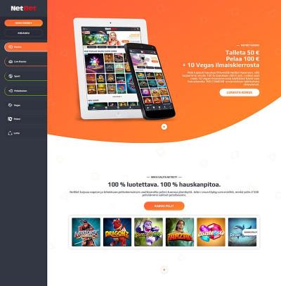 NetBet Casino Screenshot