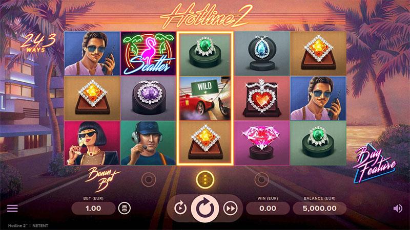 NetEntin suosittu Hotline on saanut jatkoa kokeile Hotline 2 -peliä ilmaiseksi Screenshot - CasinoTop