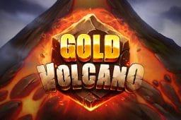 Play'n GO:n Gold Volcano kolikkopelissä on tulivuoren mallinen pelikenttä