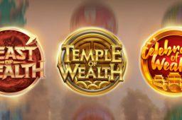 Play'n GO on tuonut markkinoille Wealth  -kolikkopelisarjan: kolme jännittävää peliä
