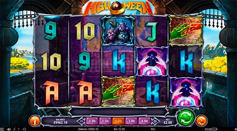 Playn GOn Helloween - kolikkopeli on pelottava uutuus Screenshot - CasinoTop