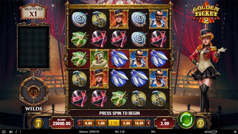 Play'n GOn upea Golden Ticket 2 -kolikkopeli vie sinut keskelle värikkäitä karnevaaleja Slot Images - CasinoTop