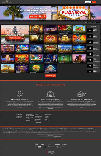Plaza Royal Casino Screenshot